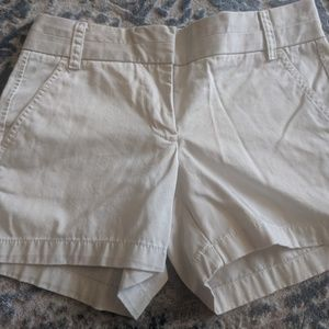 JCrew Chino shorts 4 inch